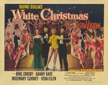 WHITE CHRISTMAS POSTER. 1954 ORIGINAL.