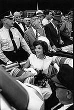 BILL RAY: JACKIE KENNEDY IN CAR, HYANNIS PORT 1960.