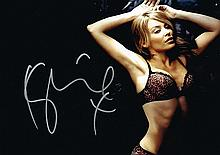 KYLIE MINOGUE SIGNED PHOTO.