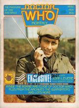 DOCTOR WHO: John levene signed magazine.