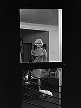 ERIC SKIPSEY: MARILYN MONROE BEVERLY HILLS HOTEL 1961 SILVER GELATIN PRINT.