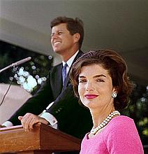 MARK SHAW: JACKIE KENNEDY OUTTAKE FROM THE 1959 LIFE COVER STORY.
