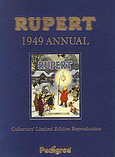 RUPERT THE BEAR ORIGINAL 1949 FACSIMILE DAILY EXPRESS ANNUAL.