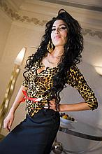 HARRY BENSON SIGNED: AMY WINEHOUSE AT THE SAVOY HOTEL LONDON 2007