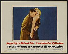 PRINCE AND THE SHOWGIRL 1957 US LOBBY CARD.