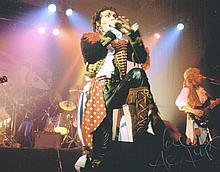 ADAM ANT ON STAGE SIGNED PHOTO.