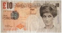 BANKSY: DI FACED TENNER NOTE (10 POUND)