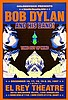 BOB DYLAN - CONCERT POSTER FOR  THE TIME OUT OF MIND TOUR.