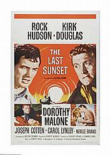 THE LAST SUNSET 1961 ONE SHEET 27