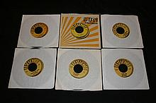 ELVIS PRESLEY SUN RECORDS REPRODUCTION OF 6 SINGLES.