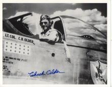 Chuck Older signed photo.
