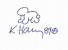 KEITH HARING RADIANT BABY.