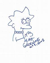 MATT GROENING LISA SIMPSON.