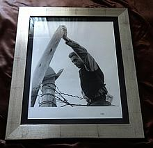 JAMES DEAN FRANK WORTH FRAMED LIMITED PRINT 19x15 INCHES
