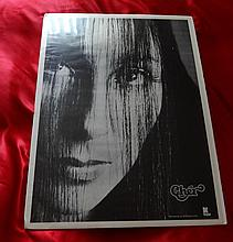 CHER GYPSIES TRAMPS AND THIEVES 1971 PROMOTIONAL POSTER.