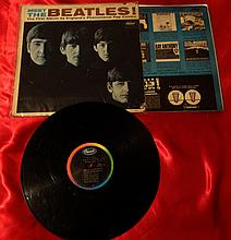 MEET THE BEATLES 1ST PRESSING RIAA 3 CAPITOL