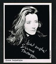 EMMA THOMPSON SIGNED PHOTO.