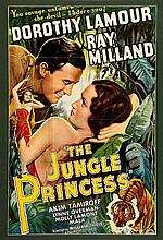 THE JUNGLE PRINCESS/THE LITTLE COLONEL REPRODUCTION POSTERS.