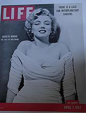 A COLLECTION OF MARILYN MONROE LIFE POSTERS.