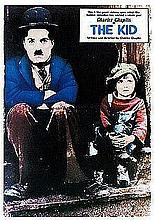 CHARLIE CHAPLIN 'THE KID' POSTER 35.5 X 23.5 INCHES