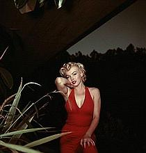 MARILYN MONROE IN 1954 C TYPE PHOTOGRAPH.