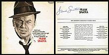 FRANK SINATRA SIGNED LP SLEEVE.