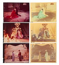 COLLECTION OF ELIZABETH TAYLOR AS CLEOPATRA NEGATIVES.
