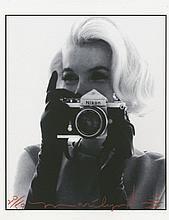 BERT STERN: MARILYN WITH THE NIXON CAMERA.