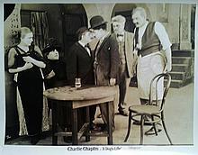 CHARLIE CHAPLIN - A DOG'S LIFE ORIGINAL 1920'S R STILL.