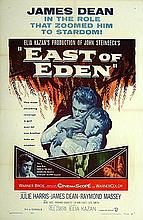JAMES DEAN - EAST OF EDEN R 1957 ONE SHEET 27X41 INCHES