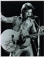 DAVID BOWIE SIGNED PHOTO.