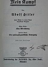 ADOLF HITLER SIGNED: MEIN KAMPF.