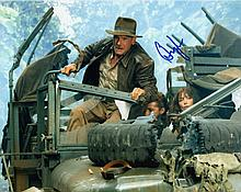 HARRISON FORD AS INDIANA JONES SIGNED PHOTO.