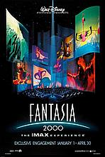 DISNEY'S FANTASIA 2000 POSTER 40X27 INCHES.