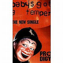 THE PRODIGY'S - BABY'S GOT A TEMPER UK PROMOTIONAL POSTER 60x40 INCHES.