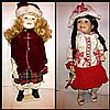 18 INCHES PORCELAIN DOLLS FROM THE POUPEE COLLECTION.