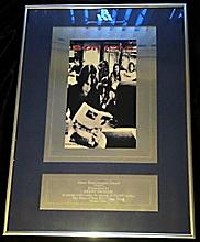 BON JOVI BRITISH VIDEO ASSOCIATION SILVER AWARD.