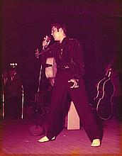 A SIGNED TERRY WOOD ELVIS PRESLEY Miss-Ala Fair PHOTO