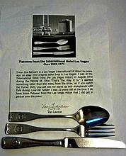 FLATWARE FROM THE INTERNATIONAL HOTEL - LAS VEGAS