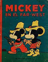 RARE MICKEY MOUSE IN THE FAR WEST 1936 BOOK.