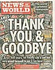 NEWS OF THE WORLD - LAST EVER EDITION 8674 NEWSPAPER