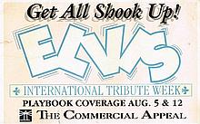 ELVIS PRESLEY - GET ALL SHOOK UP CARD!