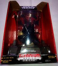 STAR WARS DARTH MAUL TITANIUM BOXED FIGURE.