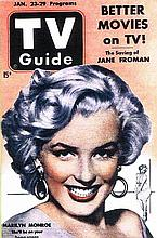 MARILYN MONROE 1953 TV GUIDE REPRODUCTION