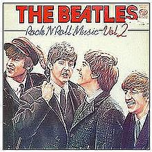 THE BEATLES ROCK N ROLL MUSIC VOL 2 1ST PRESSING