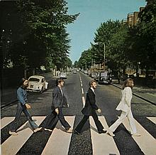 THE BEATLES - ABBEY ROAD UK LP FOURTH PRESSING