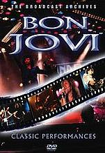 BON JOVI CLASSIC PERFORMANCES DVD.