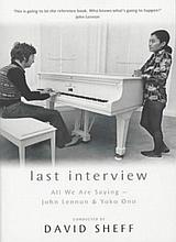 JOHN LENNON - LAST INTERVIEW BOOK.