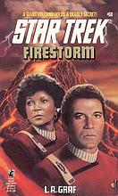 STAR TREK - FIRESTORM BOOK.