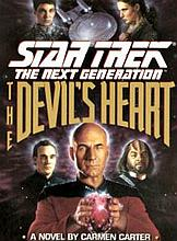 STAR TREK - THE DEVIL'S HEART HARDBACK.